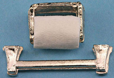 Metal Towel & Paper Holder