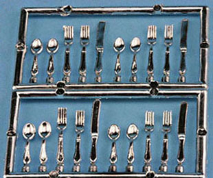 20 pc. silverware set - Click Image to Close