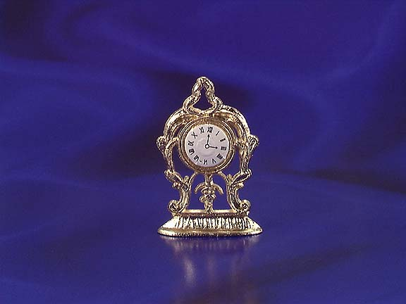 golden mantle clock