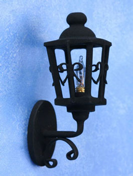 Ornate coach lamp