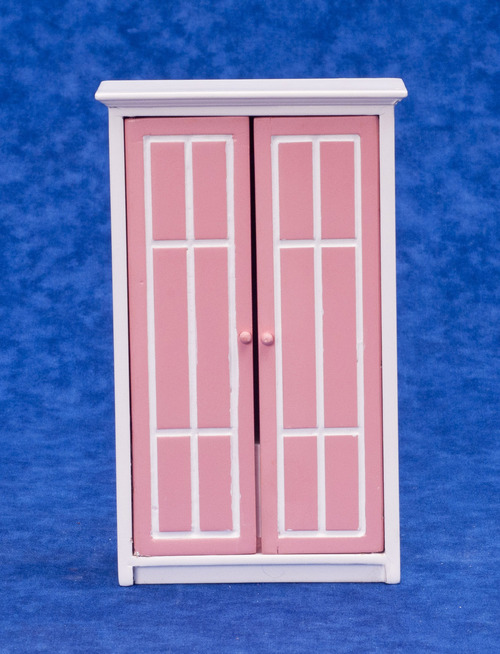 Armoire/pink/white