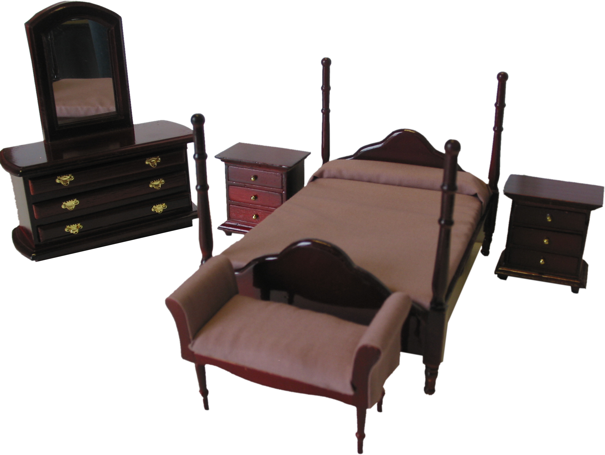 5 pc. double bedroom set