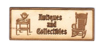 Antiques & Collectables Sign