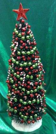 Candy Cane Christmas Tree - Click Image to Close
