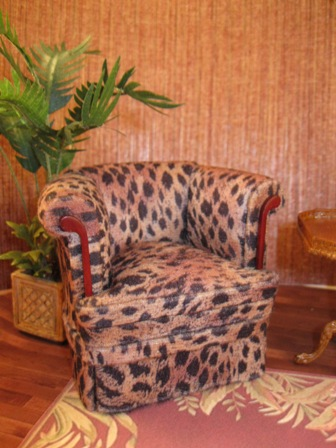 animal print club chair animal club 45 00 out of the ordinary