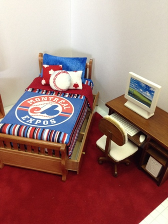 Dressed Expos Bed