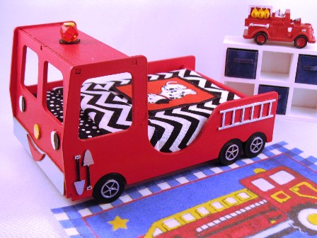 Dressed Fire Engine Bed