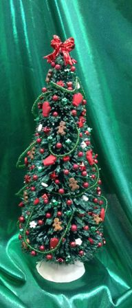 Red Mitten Christmas Tree