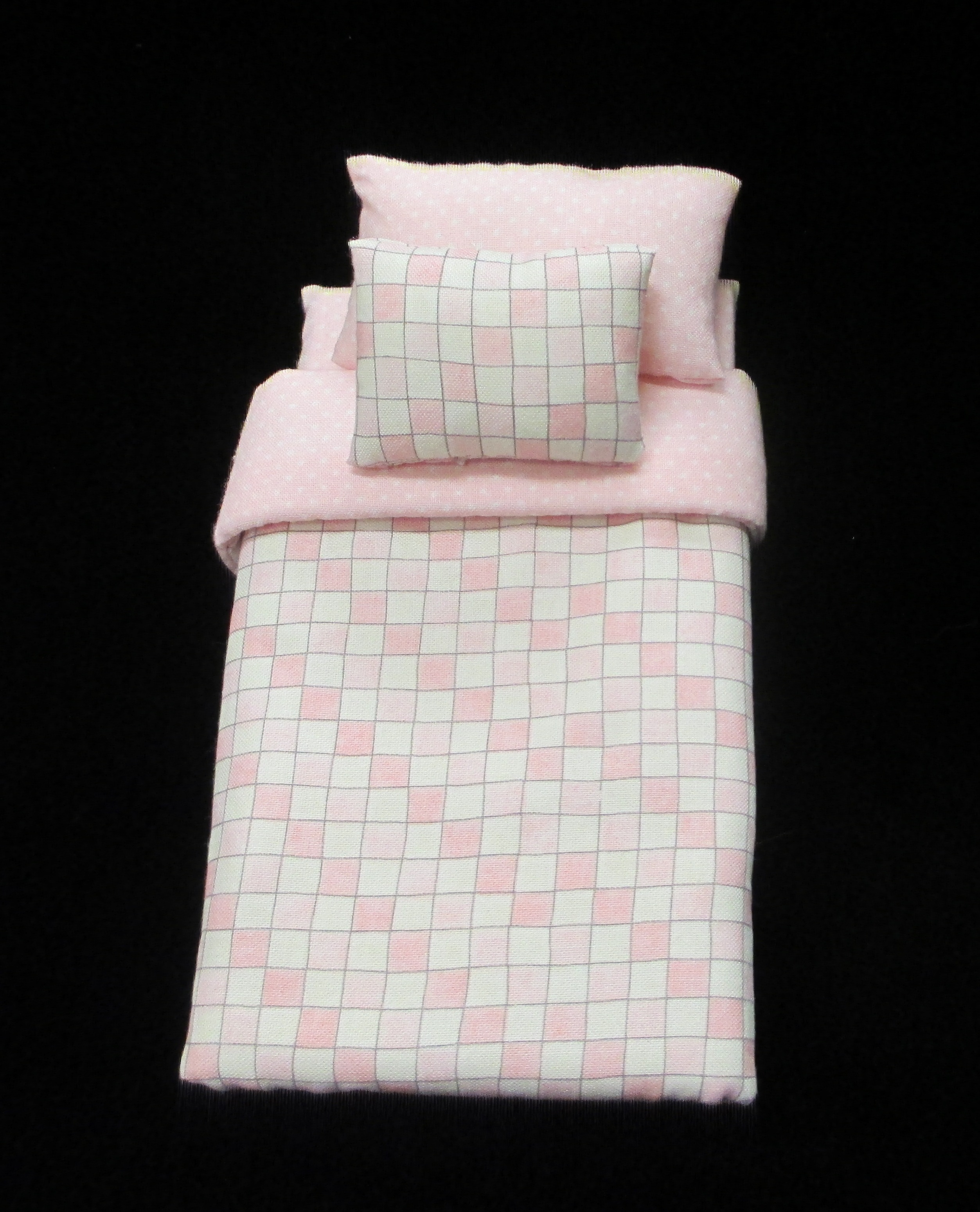 Pale Pink single bed set