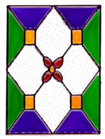 "Stained Glass Panel ""C"""