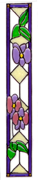 Stained Glass Panel-long