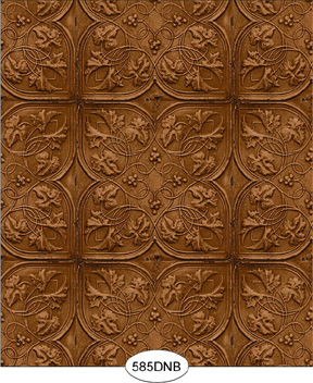 Embossed metal Ceiling Tile
