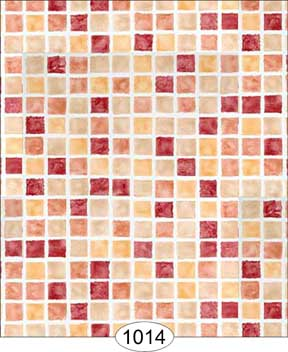 Mosaic Tile-red