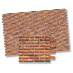 Modern brick wall sheet